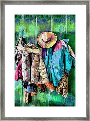 Between Seasons Framed Print