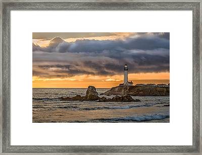 Between Storms Framed Print