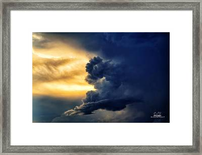 Between The Storms Framed Print by Dan Quam