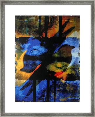 Between The Worlds Framed Print by Linda Marcille
