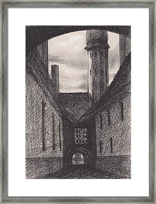 Between Two Arches Framed Print