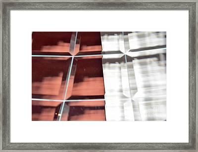 Beveled Reflection 114h Framed Print by Thomas Carroll
