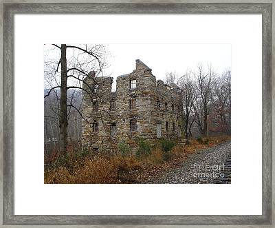 Framed Print featuring the photograph Beverly Chapman's Mill by Jane Ford