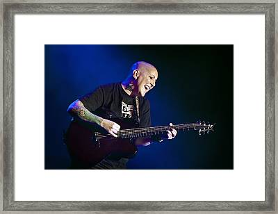 Beverly Mcclellan On Guitar 1 Framed Print by Jennifer Rondinelli Reilly - Fine Art Photography