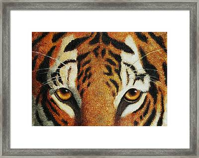 Beware Framed Print by Crista Forest