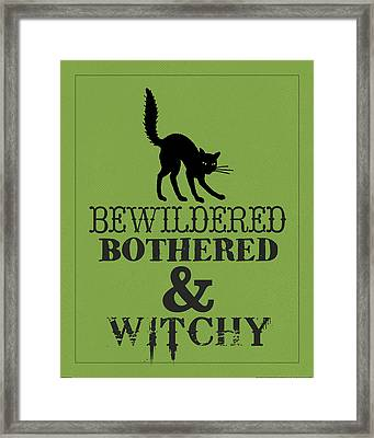 Bewitched Framed Print by Katie Pertiet