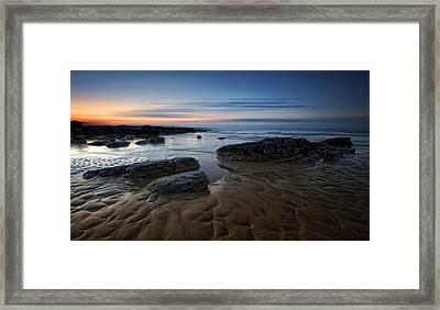 Bexhill Sunrise Framed Print by Mark Leader