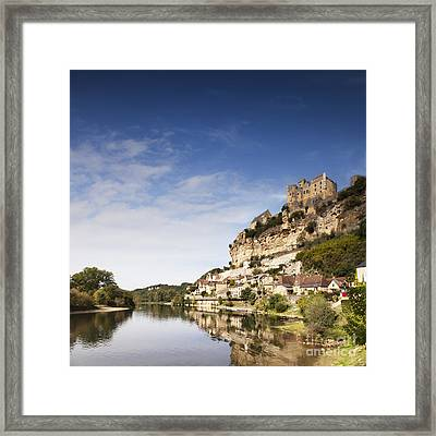 Beynac Et Cazenac Limousin France Framed Print by Colin and Linda McKie