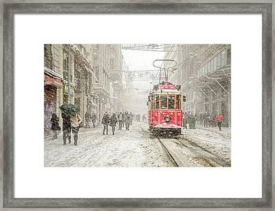 Beyoa?lu Framed Print by Murat Bakmaz