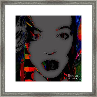 Beyonce Collection Framed Print