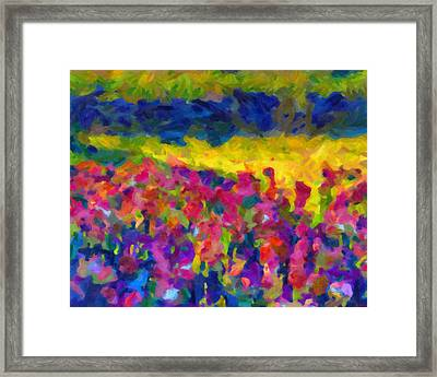 Framed Print featuring the painting Beyond A Simple Love by Joe Misrasi