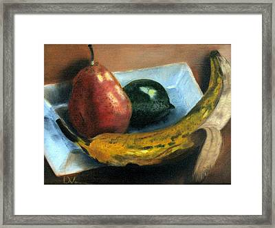 Beyond Banana Nut Bread Framed Print