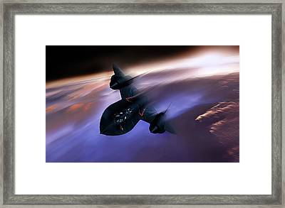 Beyond Mach 3 Framed Print