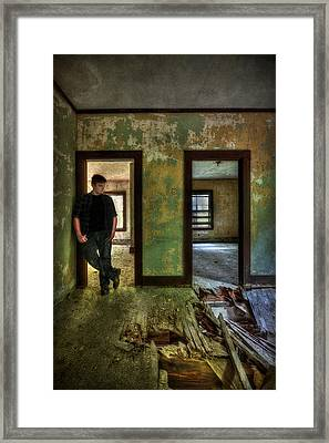 Beyond Regrets Of The Past Framed Print by Evelina Kremsdorf