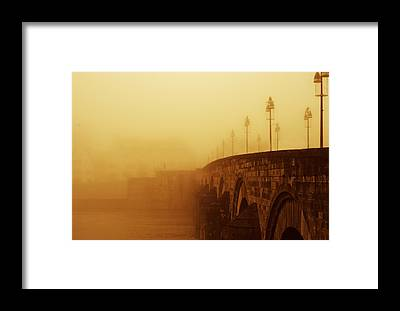 Sint Servaasbrug Framed Prints