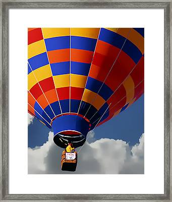 Beyond The Clouds Framed Print by Ken Evans