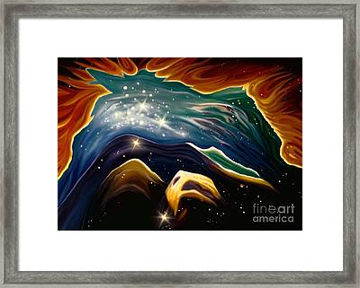 Beyond The Furthest Point Framed Print