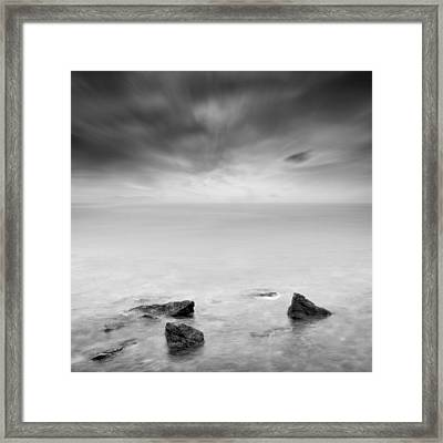 Beyond The Horizon Framed Print by Taylan Apukovska