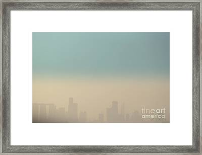 Beyond The Horizon Framed Print by Vishakha Bhagat