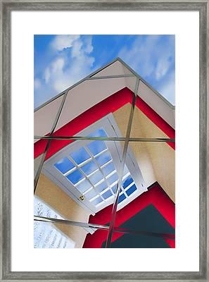Beyond The Room - Sky - Escape Framed Print
