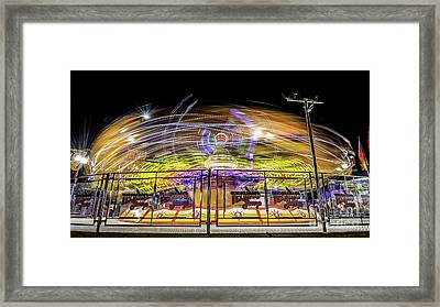 Beyond The Safety Fence Framed Print