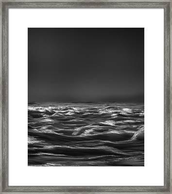 Beyond The Sea Framed Print by Bob Orsillo