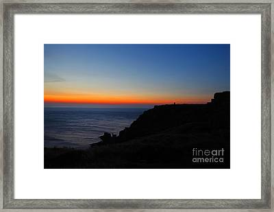 Beyond The Sea Framed Print by Traci Law
