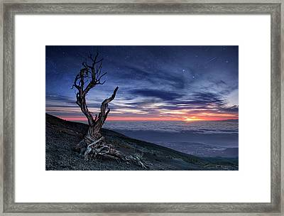 Beyond The Sky Framed Print