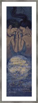Beyond The Universe Framed Print by Dorina  Costras