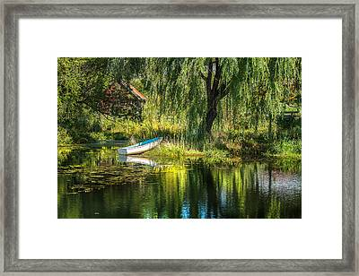 Beyond The Willow Framed Print