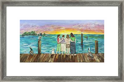 Bff Morning Framed Print