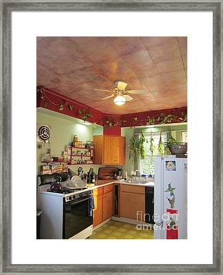 Bflo. Kitchen Framed Print by M Bellavia