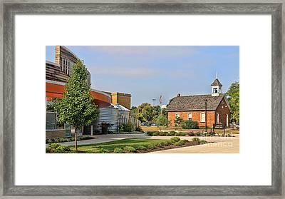 Bgsu Carillon Dining Hall And Educational Memorabilia Center 3250 Framed Print by Jack Schultz