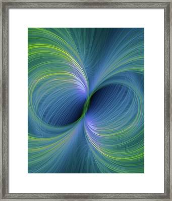 Bi Polar Or Supersymmetry Concept Framed Print