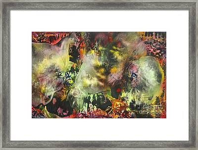 Bi-polar Syndrome Framed Print