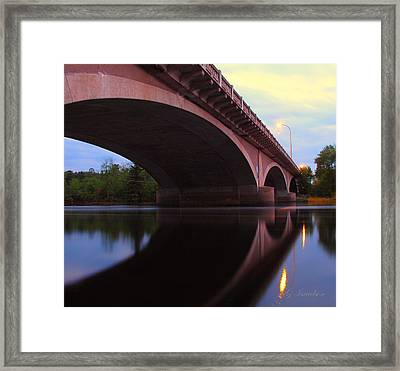 Biauswah Bridge Framed Print