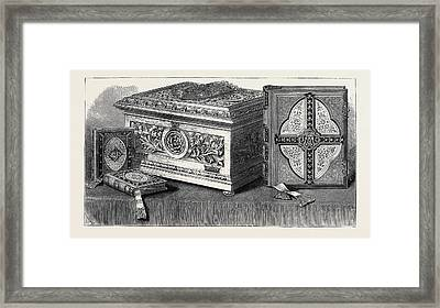Bible Presented To H.r.h Framed Print