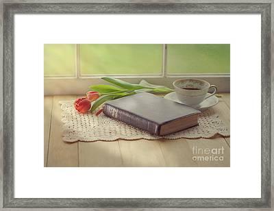 Bible Study Framed Print
