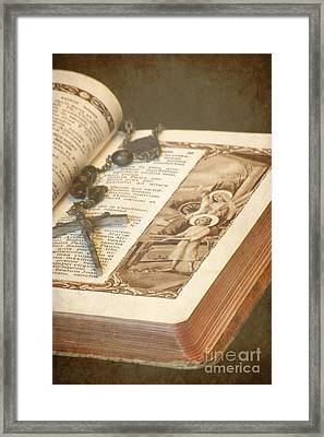 Biblical Framed Print by Sophie Vigneault