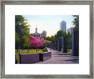 Bicentennial Capital Mall Park Framed Print