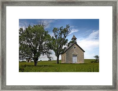 Bichet School Framed Print