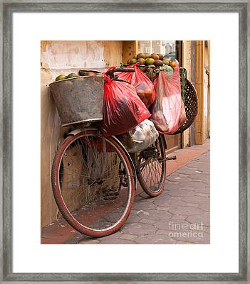 Bicycle 06 Framed Print by Rick Piper Photography