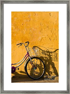 Bicycle 07 Framed Print by Rick Piper Photography
