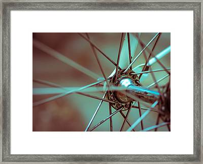Bicycle Abstract Framed Print