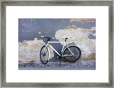 Bicycle Copenhagen Denmark Framed Print