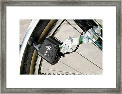 Bicycle Dynamo Framed Print by Trevor Clifford Photography
