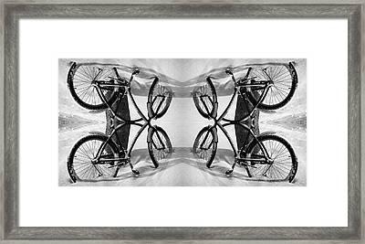 Bicycle Heaven Framed Print