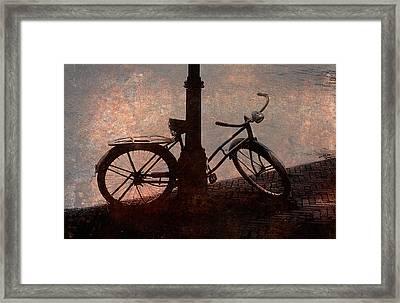 Bicycle Framed Print by John Cardamone