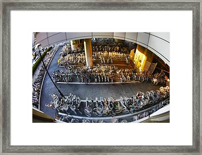Bicycle Parking Framed Print by Rscpics