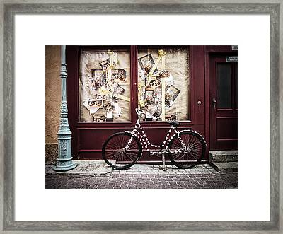 Bicycle Framed Print by Ryan Wyckoff